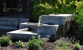 diy concrete water fountains great home decor perfect concrete