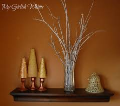 dried crape myrtle seed pods pampas grass and corkscrew willow