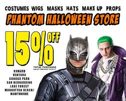halloween costumes com coupon ventura phantom halloween stores