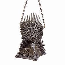 of thrones iron throne ornament thinkgeek