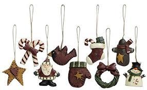 world mini ornaments 9 set vintage