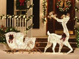 Outdoor Christmas Decor Reindeer by 17 Best Christmas Images On Pinterest Christmas Ideas Christmas