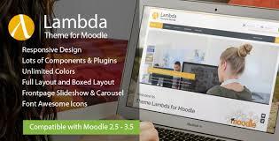 moodle theme api lambda responsive moodle theme by eva pi themeforest