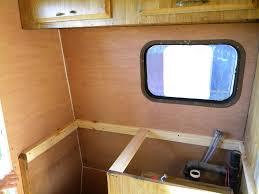 renovated rv roof bus camper popup van living beautiful camper roof repair we