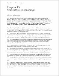 solutions manual chapter15 chapter 15 financial statement
