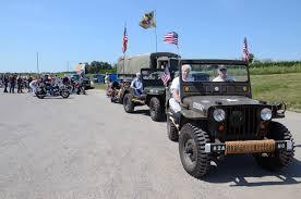 jeep vietnam michigan vietnam veteran traveling memorial unveiled in stanton