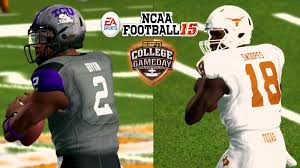ncaa football 15 xb360 60fps tcu at thanksgiving