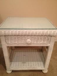 Wicker Nightstands For Sale For Sale Large White Panel Wicker Armoire Sowal Forum