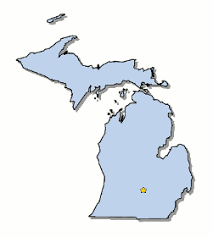 map of michigan map of michigan and county map