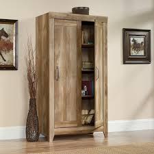 sauder kitchen storage cabinets sauder cabinets walmart select storage cabinet double door pantry