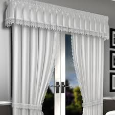 white lined voile curtains lima