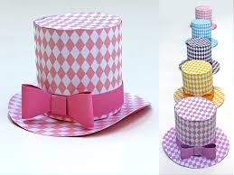 cute fun diamond mini top hat 5 diy printable easy to make