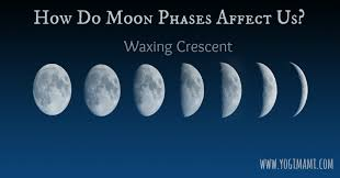 how do moon phases affects us waxing crescent yogi mami