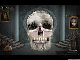 3 d halloween wallpaper skull illusion 7 by 3d poetry hd desktop wallpaper high