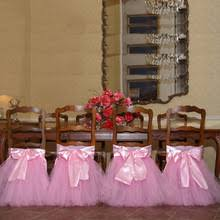 Cheap Chair Covers For Weddings Popular Tulle Chair Covers Buy Cheap Tulle Chair Covers Lots From