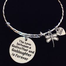 goddaughter charm the between a godmother and goddaughter is forever expandable