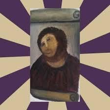 Monkey Jesus Meme - create meme ecce homo jesus fluffy jesus pictures meme