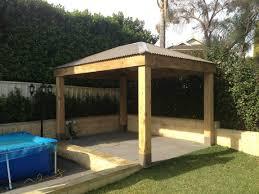 Pergola Roof Options by Buy Customised Gazebos Aarons Outdoor Living