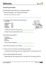 percentage worksheet worksheets