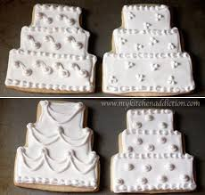 25 best wedding cake cookies ideas on decorated