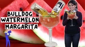giant drink how to make a bulldog watermelon margarita tipsy bartender youtube