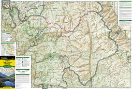 Yosemite Park Map Sequoia And Kings Canyon National Parks National Geographic
