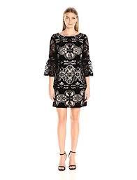 eliza j dresses eliza j women s bell sleeve velvet dress black 8 at