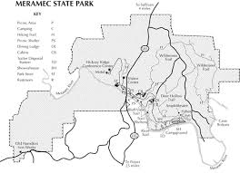 meramec community map meramec state park mo the dyrt