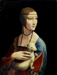 the lady with an ermine jpg