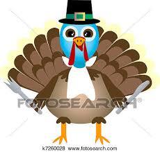 clip of thanksgiving turkey waiting for thanksgiving dinner
