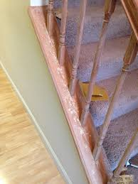 Sanding Banister Updated Fresh Banister Makeover A Brown House