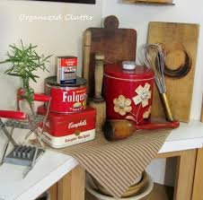 organized clutter woman u0027s work utilitarian kitchen collectibles