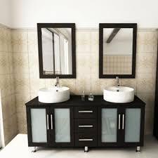 Bathroom Sink And Mirror Kokols Modern 60 Inch Free Standing Bathroom Vanity Sink