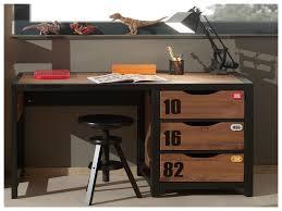 bureau industriel pas cher bruneau chaise de bureau top bureau secretaire vintage with