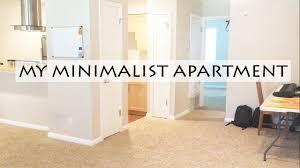 Minimalist Apartment Minimalist Apartment Tour Rv To Simple Spacious Living Youtube