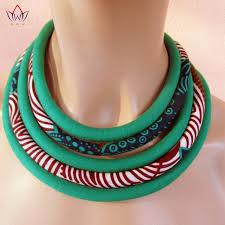bib necklace aliexpress images Brw 2017 ankara fabric necklaces multi layered handmade jewelry jpg
