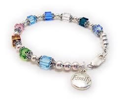 birthstone bracelet for family birthstone bracelet b dbl bb1 6mm