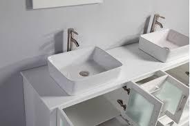 60 Inch Bathroom Vanity Double Sink Mtd Malta 61 Inch White Double Vessel Sinks Bathroom Vanity Solid