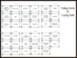 Coping Skills For Anxiety Worksheets Counseling And Activities Free Coping Skills
