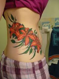 27 astounding lily flower tattoos creativefan tattoos
