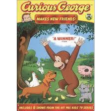 curious george dvd target