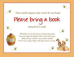 bring a book instead of a card wording baby shower wording for wishing well diabetesmang info