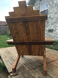 reclaimed pallet adirondack chair 101 pallets