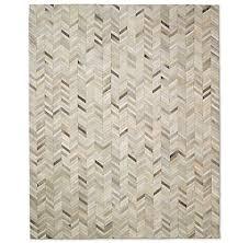 Cowhide Shower Curtain Chevron Cowhide Rug Sand