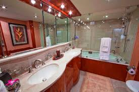 Bathroom Suites With Shower Baths Luxury Yacht Charter Castaway Master Bath Lazzara