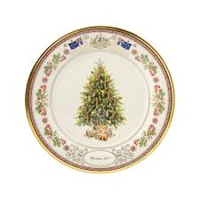 annual 2017 trees around the world australia holiday plate