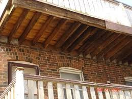 cantilevered deck rotting cantilevered deck joists