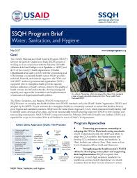the overall goal of goal wash programme is to enhance the