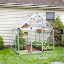 Backyard Greenhouse Diy Greenhouses Buy The Perfect Greenhouse Online You U0027ll Love Wayfair