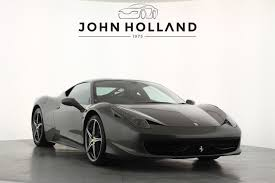 Ferrari 458 Black And White - used ferrari 458 cars for sale motors co uk